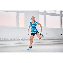 Short ajustado fitness cardio mujer negro cintura a contraste Energy