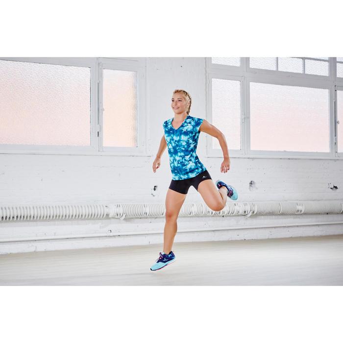 Short fitness cardio-training femme noir 100 - 1113216