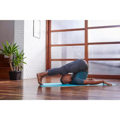 Comfort 8 Mm Yoga Mat Printed Domyos By Decathlon