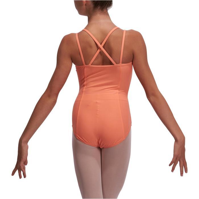 Justaucorps de danse classique fines bretelles fille SYLVIA - 1113521