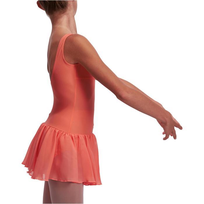 Justaucorps de danse classique DÉLIA avec jupette intégrée fille - 1113522