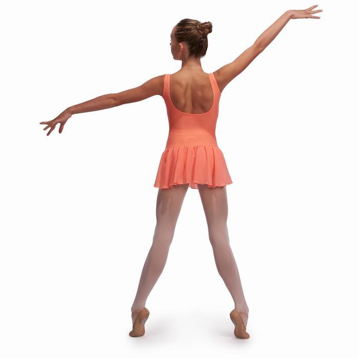 Justaucorps de danse classique DÉLIA avec jupette intégrée fille - 1113534