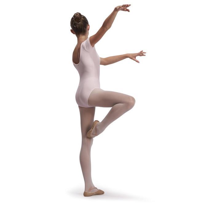 Justaucorps de danse classique manches courtes noir fille - 1113547