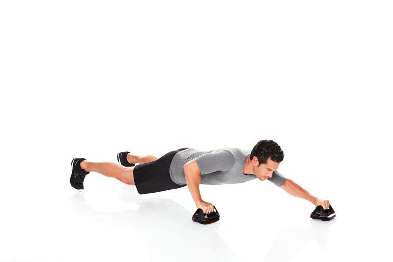 ลูกกลิ้งวิดพื้นสำหรับการออกกำลังกายแบบผสมผสาน