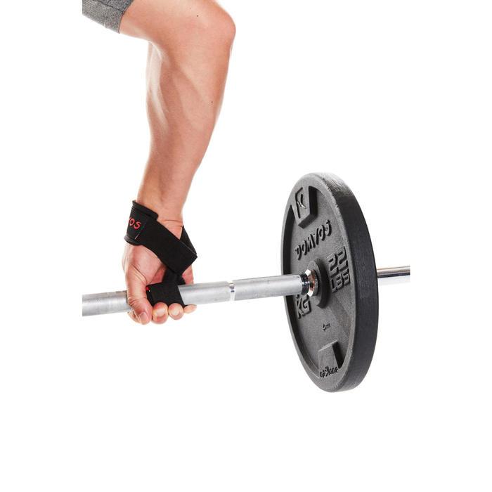 Lifting straps voor krachttraining - deadlifts - trekoefeningen