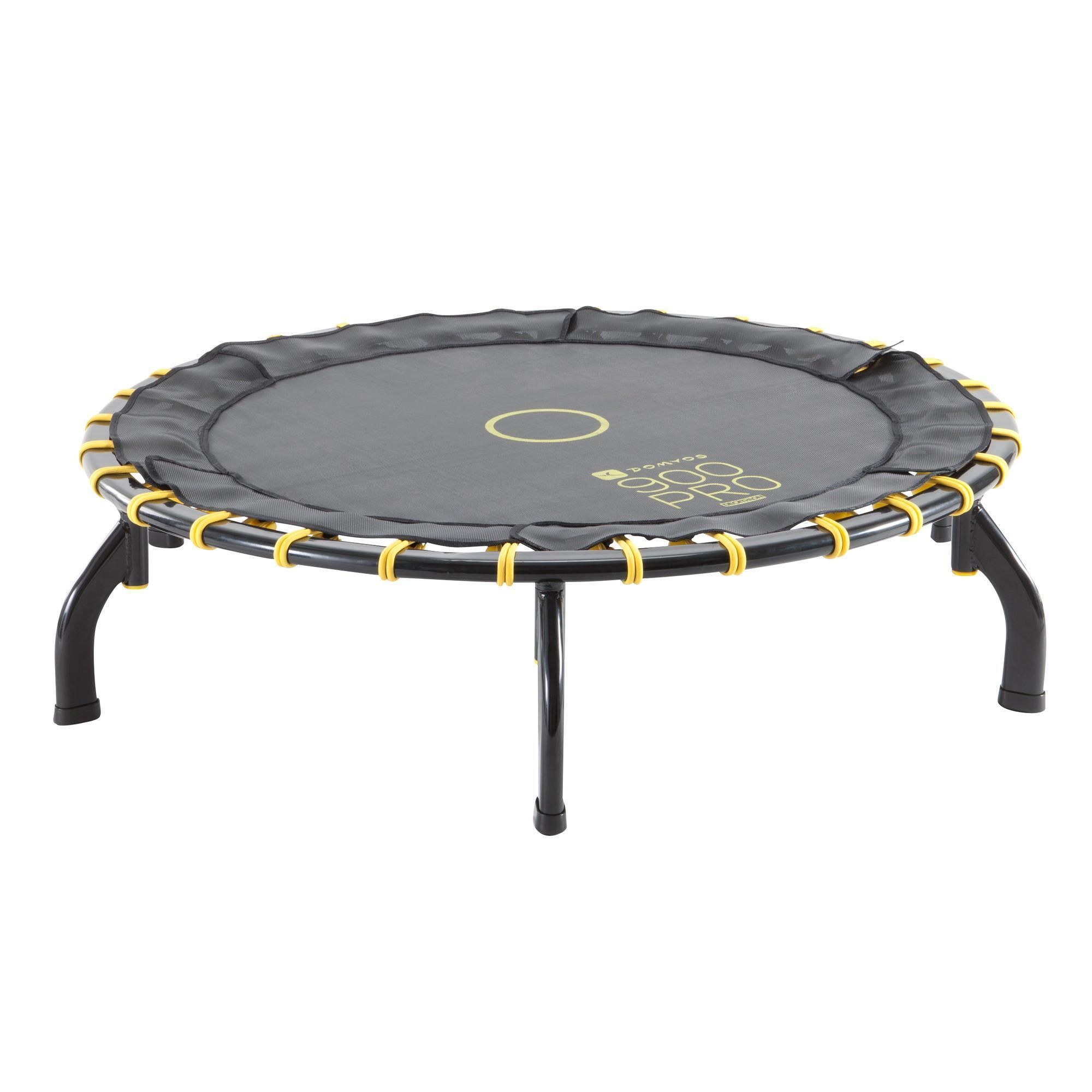 Trampoline 900 pro domyos by decathlon for Trampoline exterieur decathlon