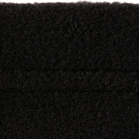 FIRSTHEAT ADULT SKI NECK WARMER - BLACK
