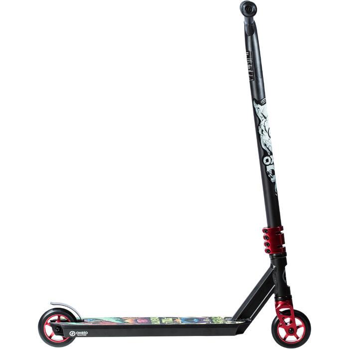 極限運動滑板車MF1.8 + - 黑紅配色