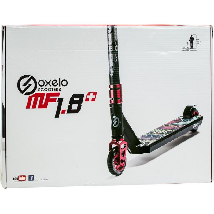 Scooter Freestyle MF1.8+ schwarz/rot