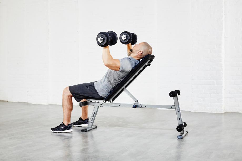 dumbbell back exercise