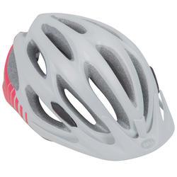 MTB-helm Bell Paradox roze/wit/grijs