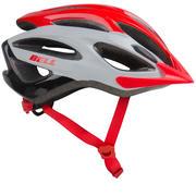 Čelada za gorsko kolesarjenje Paradox - rdeča/bela/črna