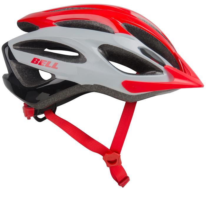 MTB-helm Bell Paradox rood/wit/zwart
