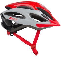MTB-helm Paradox rood/wit/zwart