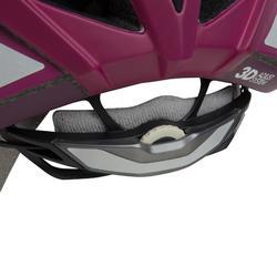 Fahrradhelm MTB 500 Damen rosa/violett