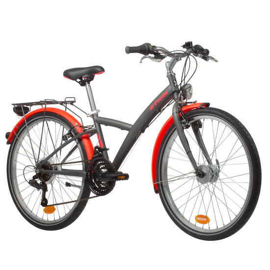 VELO 24 POUCES POPLY 540 GRIS/ROSE