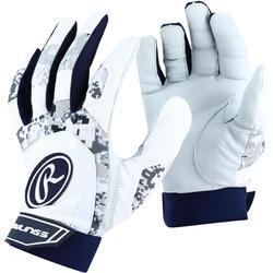 Slaghandschoenen honkbal 5150 wit/marineblauw