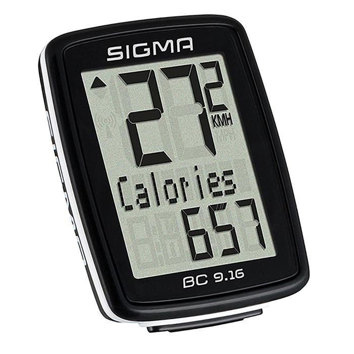 SIGMA Fahrradcomputer BC 9.16 mit Kabel