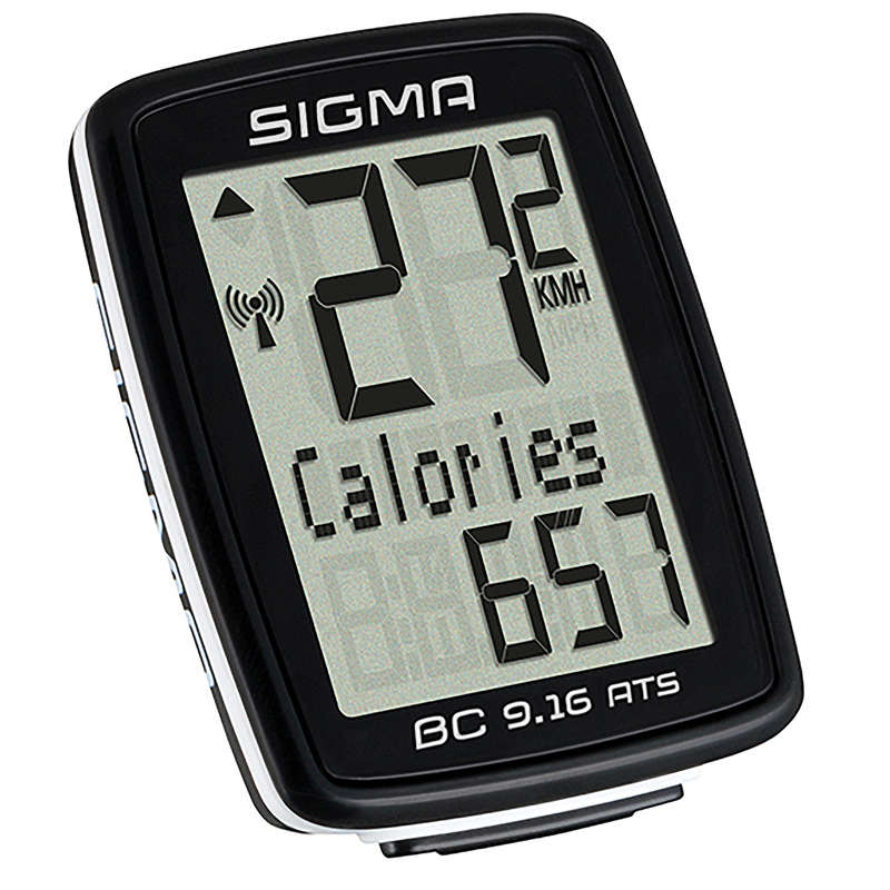 BIKE COMPUTERS Cycling - BC 9.16 ATS Wireless Cycle Computer SIGMA SPORT - Bike Accessories