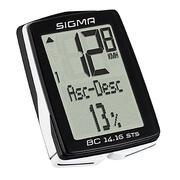 Brezžični kolesarski števec BC 14.16 STS CAD (s senzorjem kadence)