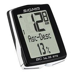 Fietscomputer BC 14.16 STS/CAD draadloos (met trapfrequentiemeter) Sigma Sport