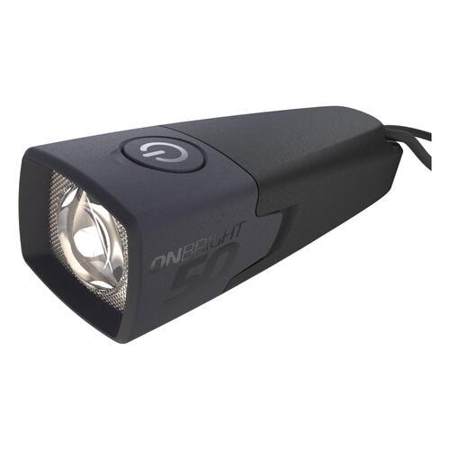 Lampe torche de bivouac à pile - ONBRIGHT 50 - 10 lumens noire