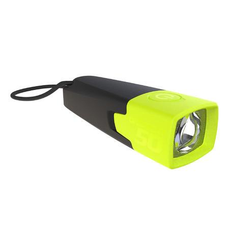 Bivouac battery-powered torchlight - ONBRIGHT 50 Yellow - 10 lumens