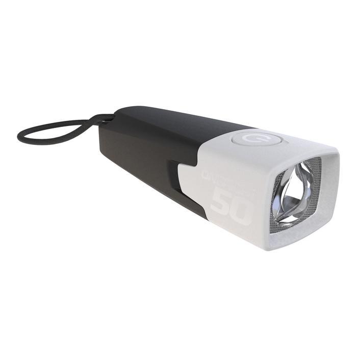 Lampe torche de Bivouac ONBRIGHT 50 noire - 10 lumens - 1114509