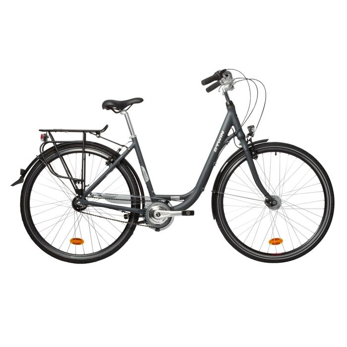 City Bike 28 Zoll Elops 900 LF Damen grau