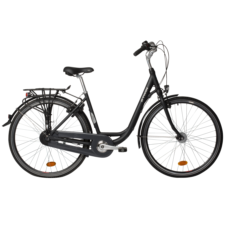 Bicicletă Oraş Elops 920 Gri
