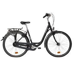 """City-Bike 28"""" Elops 920 LF tiefer Einstieg dunkelgrau"""