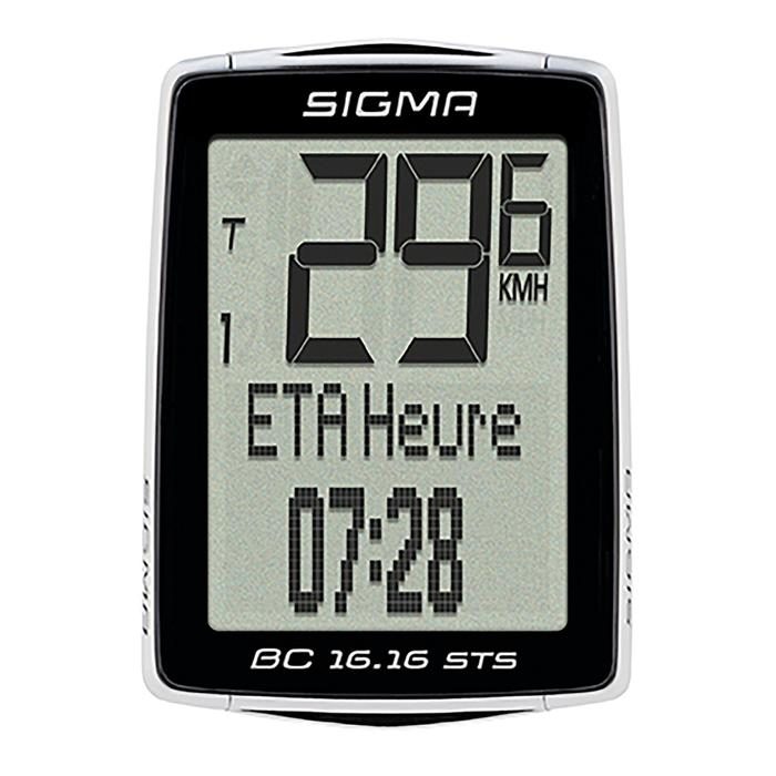 Draadloze fietscomputer BC 16.16 STS Sigma Sport