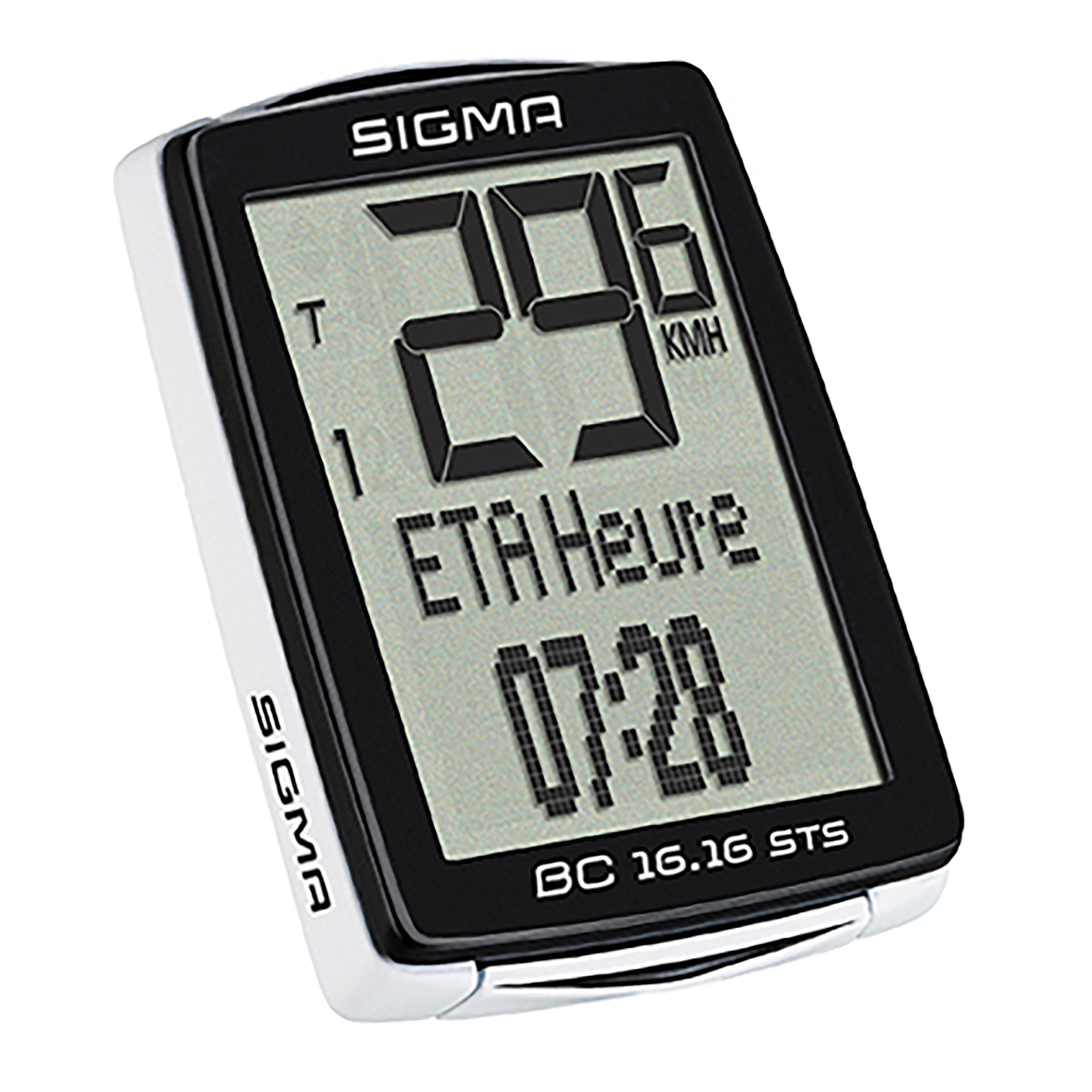 Sigma Sport BC 16.16 STS fietscomputer