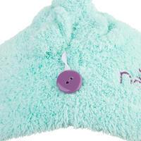 Serviette cheveux en microfibre douce vert clair