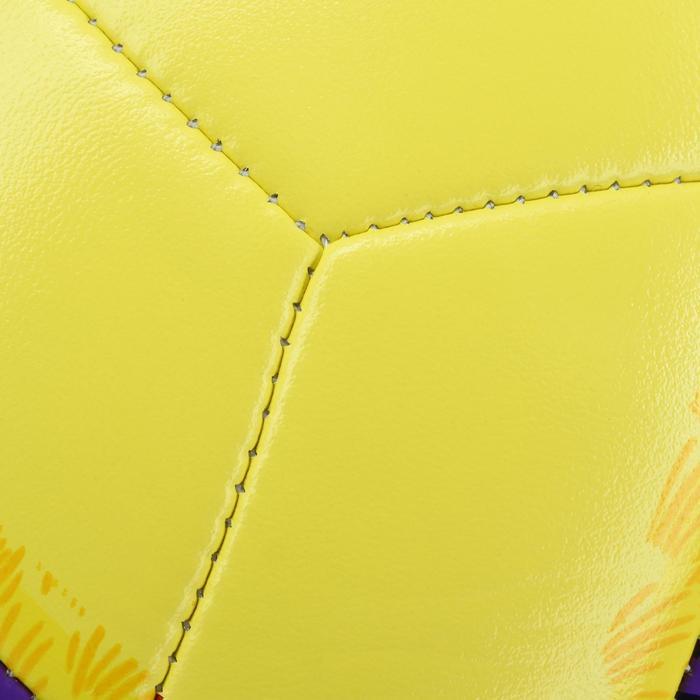 Beachvolleyball BV100 gelb/violett