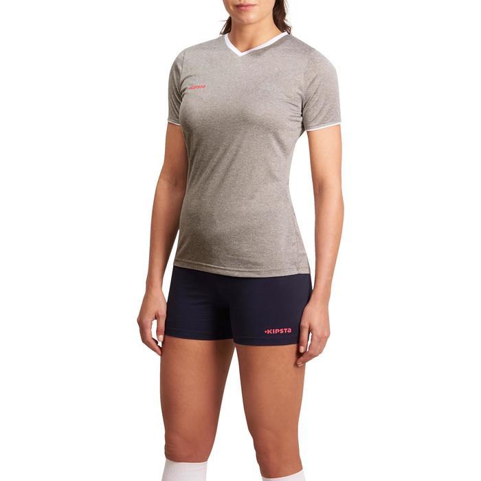 Pantalón corto de voleibol mujer Lady azul y rosa