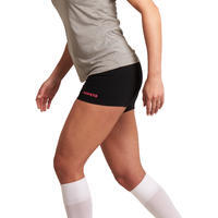 Lady Women Volleyball Shorts - Black Pink