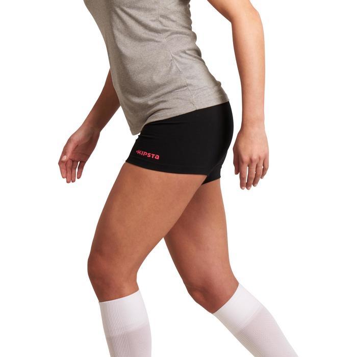 Short de volley-ball femme Lady noir et rose