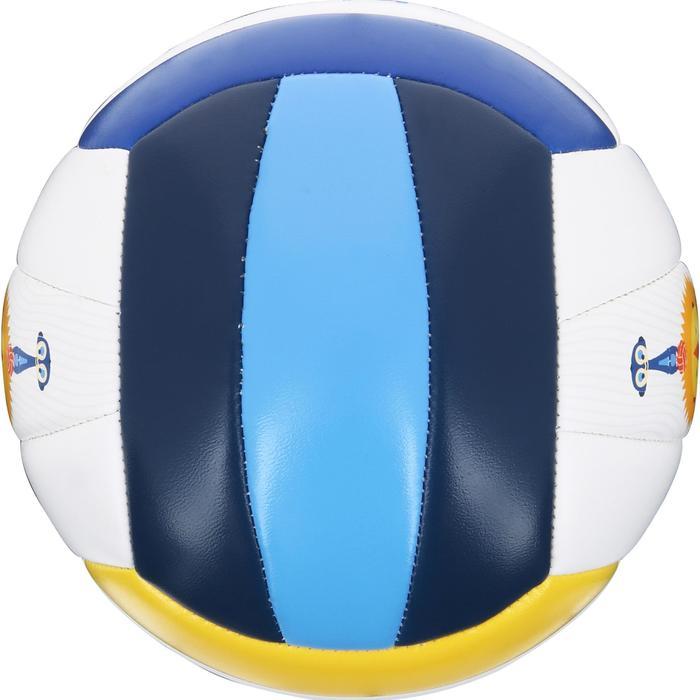 Minibal voor beachvolleybal Rio Totem Savanna wit/blauw/geel