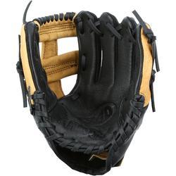 Guante de béisbol para niños Jr A360 mano izquierda 9 pulgadas (22.86 cm) marrón