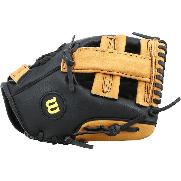 Gant de baseball pour enfant Jr A360 main gauche 9 pouces (22.86 cm) marron - 1114958