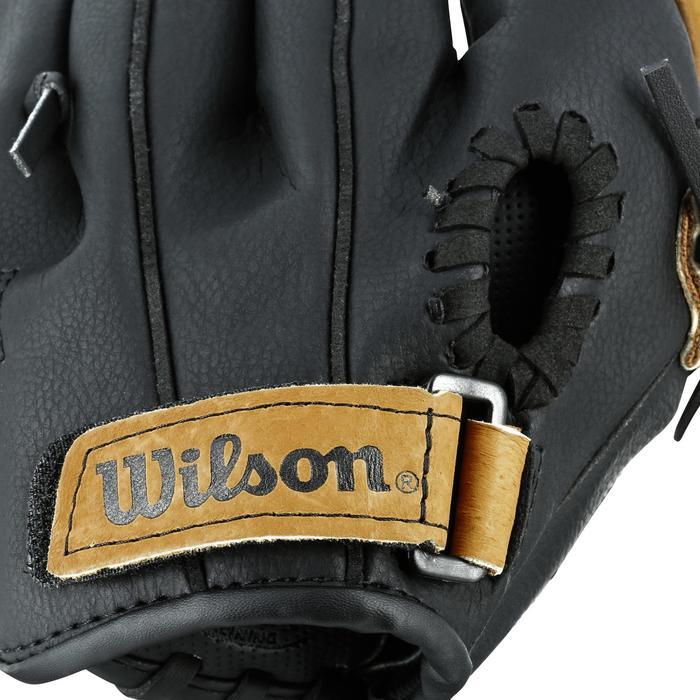 Gant de baseball pour enfant Jr A360 main gauche 9 pouces (22.86 cm) marron - 1114960