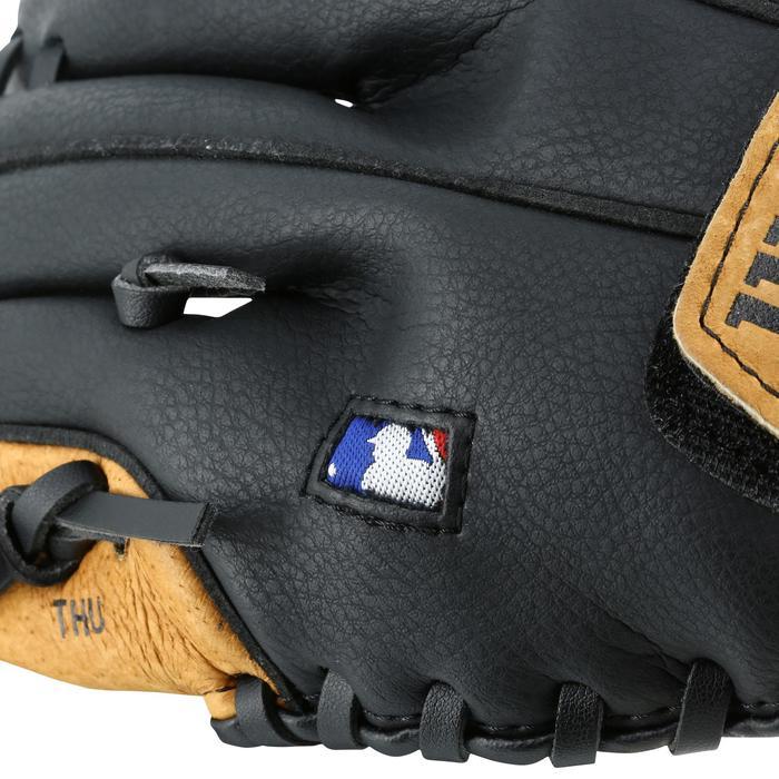 Gant de baseball pour enfant Jr A360 main gauche 9 pouces (22.86 cm) marron - 1114961