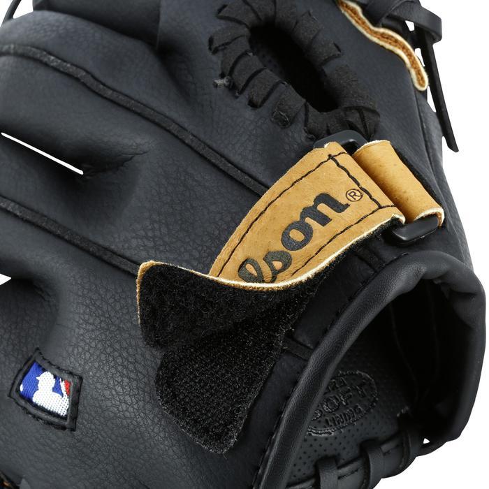 Gant de baseball pour enfant Jr A360 main gauche 9 pouces (22.86 cm) marron - 1114963