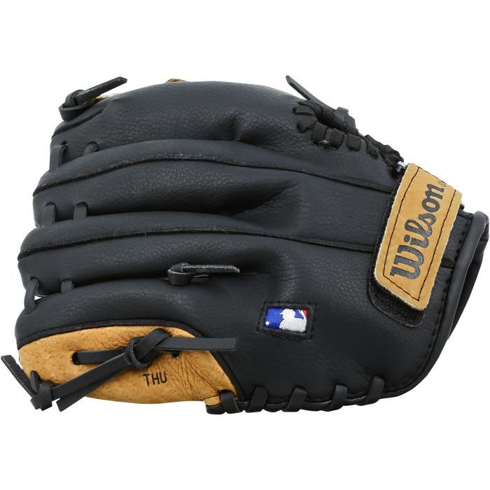 baseball handschuh a360 linke hand 9 zoll 22 86 cm kinder braun wilson decathlon. Black Bedroom Furniture Sets. Home Design Ideas