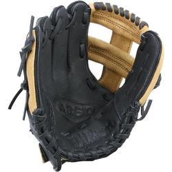 Baseballhandschuh für rechte Hand 9 Zoll Kinder braun