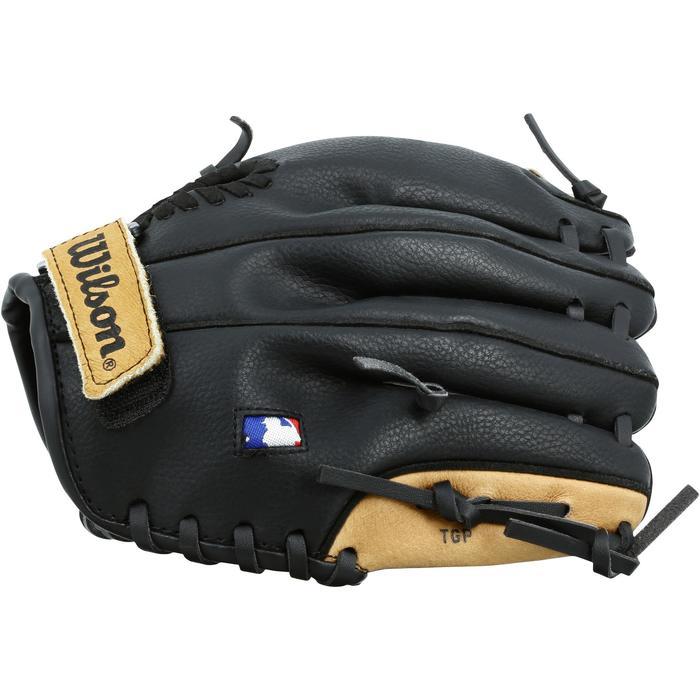 Gant de baseball pour enfant main droite 9 pouces marron - 1114969