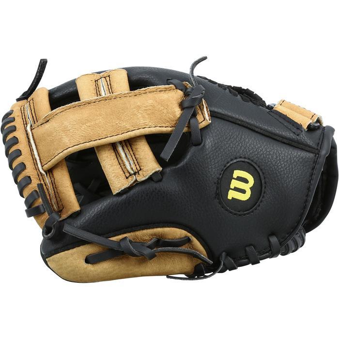 Gant de baseball pour enfant main droite 9 pouces marron - 1114970