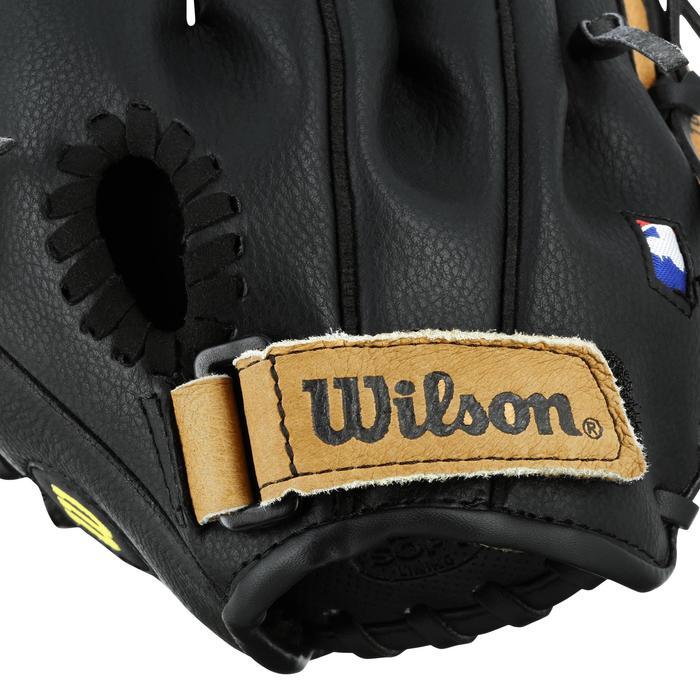 Gant de baseball pour enfant main droite 9 pouces marron - 1114972