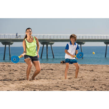 Beachtennis-Set Woody blau